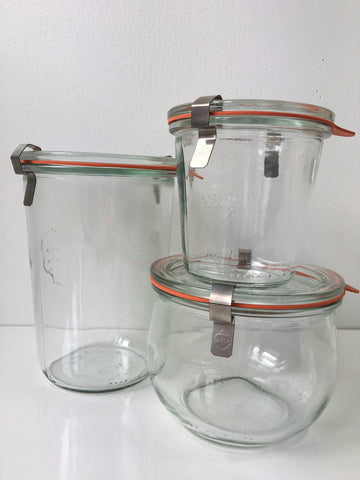 Weck Storage Jars