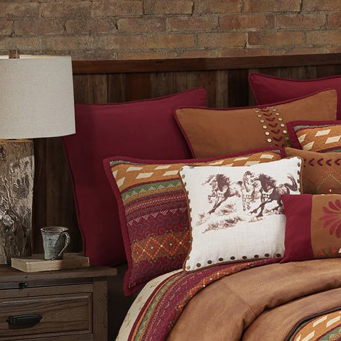 Rustic & Western Pillows & Throws
