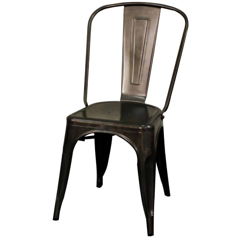 Metropolis Metal Side Chair