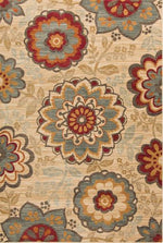 Arabesque Floral Rug
