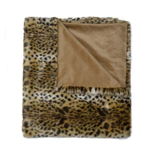 Bobcat Fur Throw