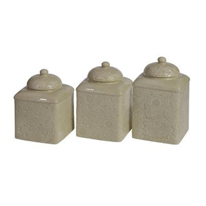 Covered Canister Set