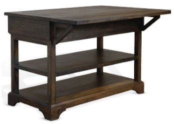 Homestead Counter Height Island Table