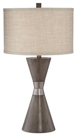 Table Lamp with Metal Band