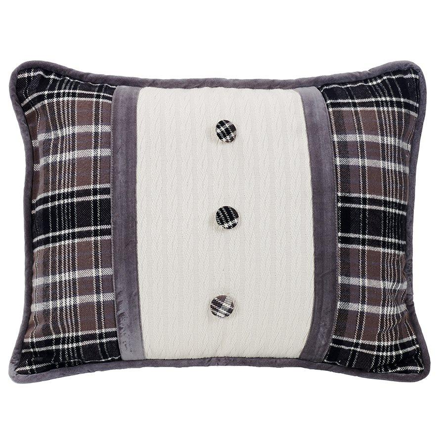 Whistler Button Pillow