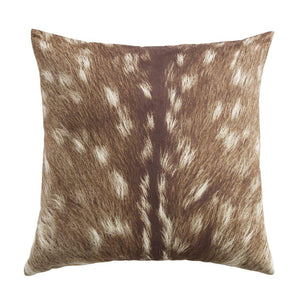 Faux Suede Fawn Pillow