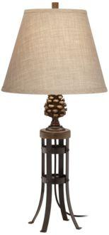 Pine Cone View Table Lamp