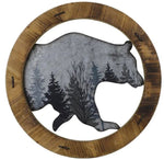 Rustic Bear Wall Art