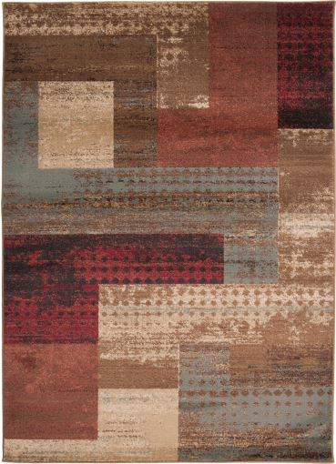 Riley Rug- Red