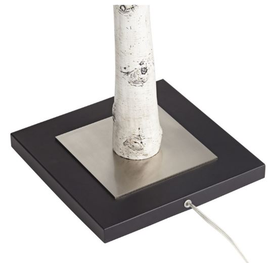 White Birch Floor Lamp