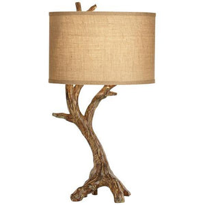 Beachwood Lamp