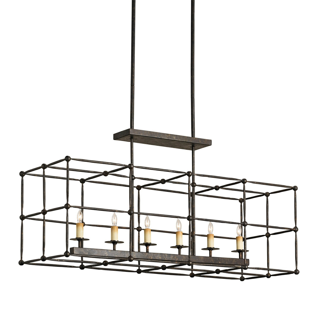Fitzjames Rectangular Chandelier