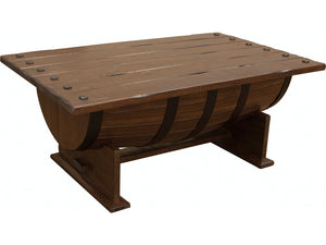 Barrel Coffee Table