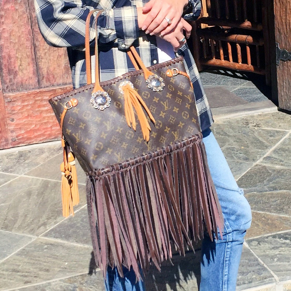 Tassled Fringe Purse