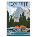 Vintage Yosemite Wall Art