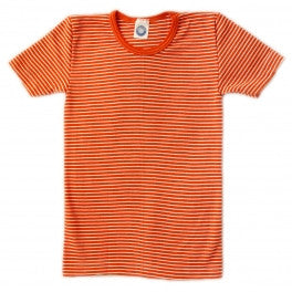 Children's Tee (Orange Stripe) by Cosilana