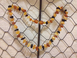 Baltic Amber Teething Necklace *SAFETY KNOTTED*