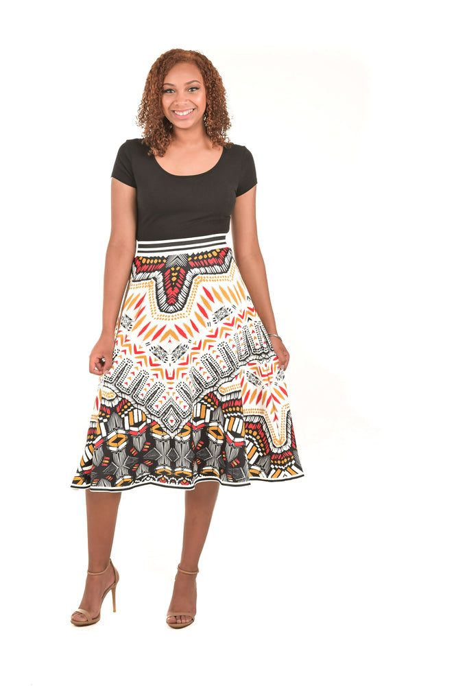 Tribal-Inspired Skirt