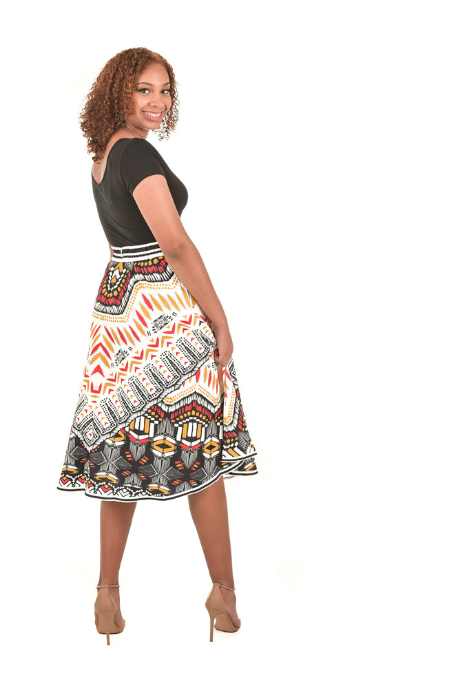 Tribal-Inspired Skirt - Boutique Amore
