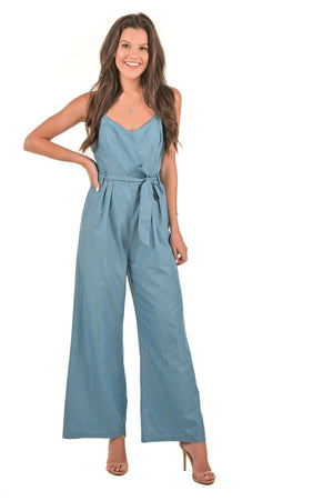 Destiny Denim Jumpsuit