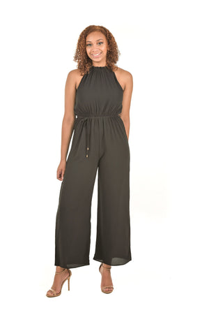 Breille Black Classic Sleeveless Jumpsuit - Boutique Amore