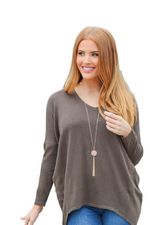 Oversized Super Soft Sweater - Boutique Amore