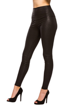 High Waist Snakeskin Print Leggings