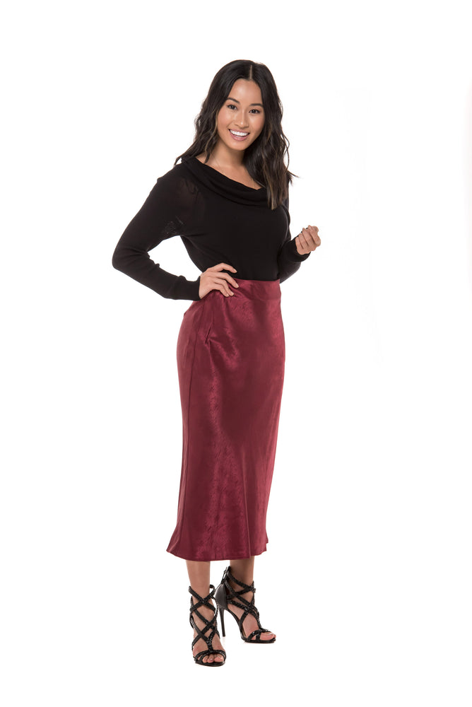 Serina Satin Skirt