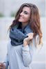 Plaid Infinity Scarf- 3 Colors