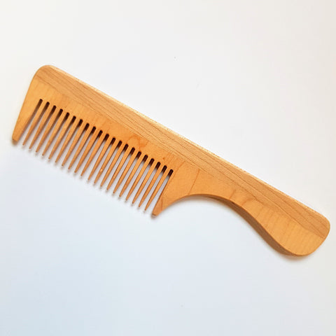 Maple Beard Comb Natural CLEARANCE