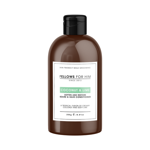 Beard & Hair Conditioner - Coconut & Lime 250g