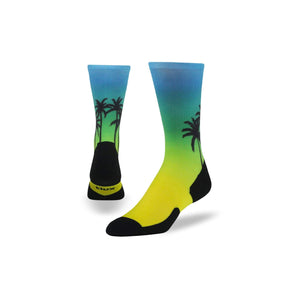 Beach, Please Run Crew - Graduated Compression Socks.