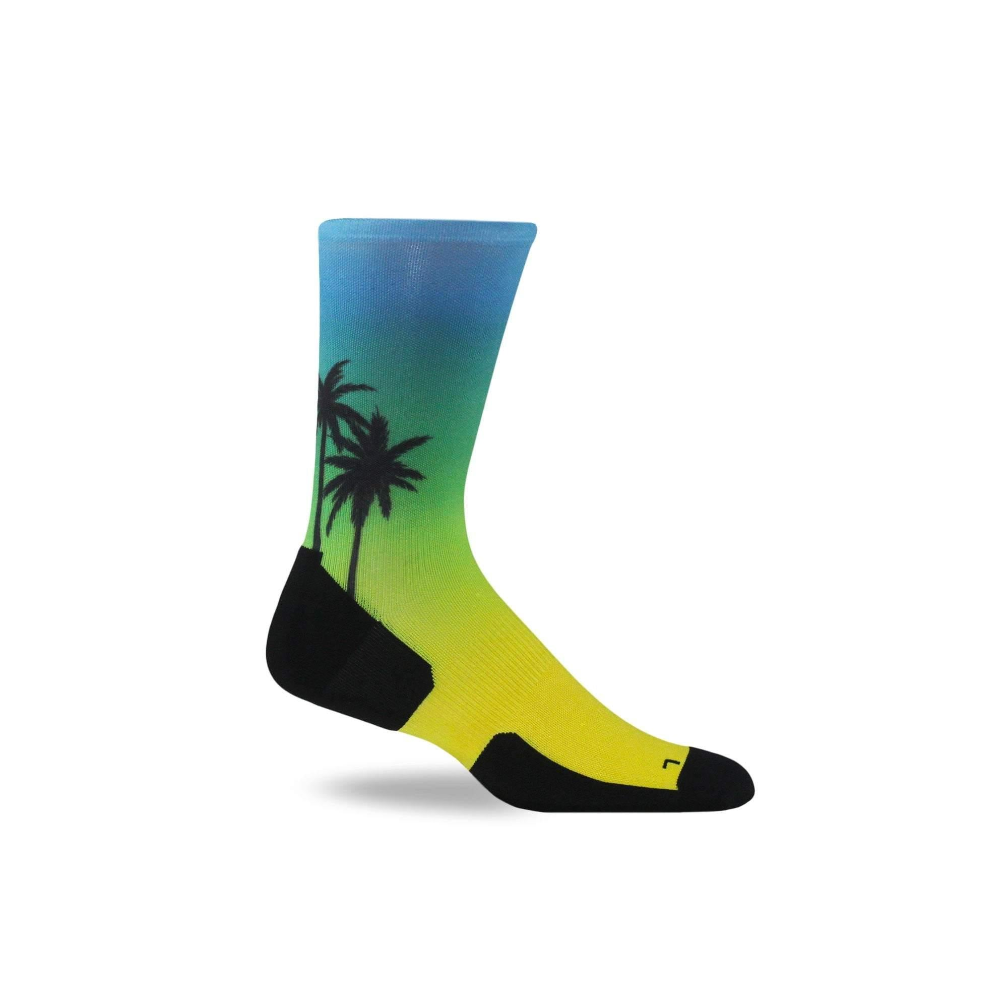 Beach, Please Run Crew - Graduated Compression Socks