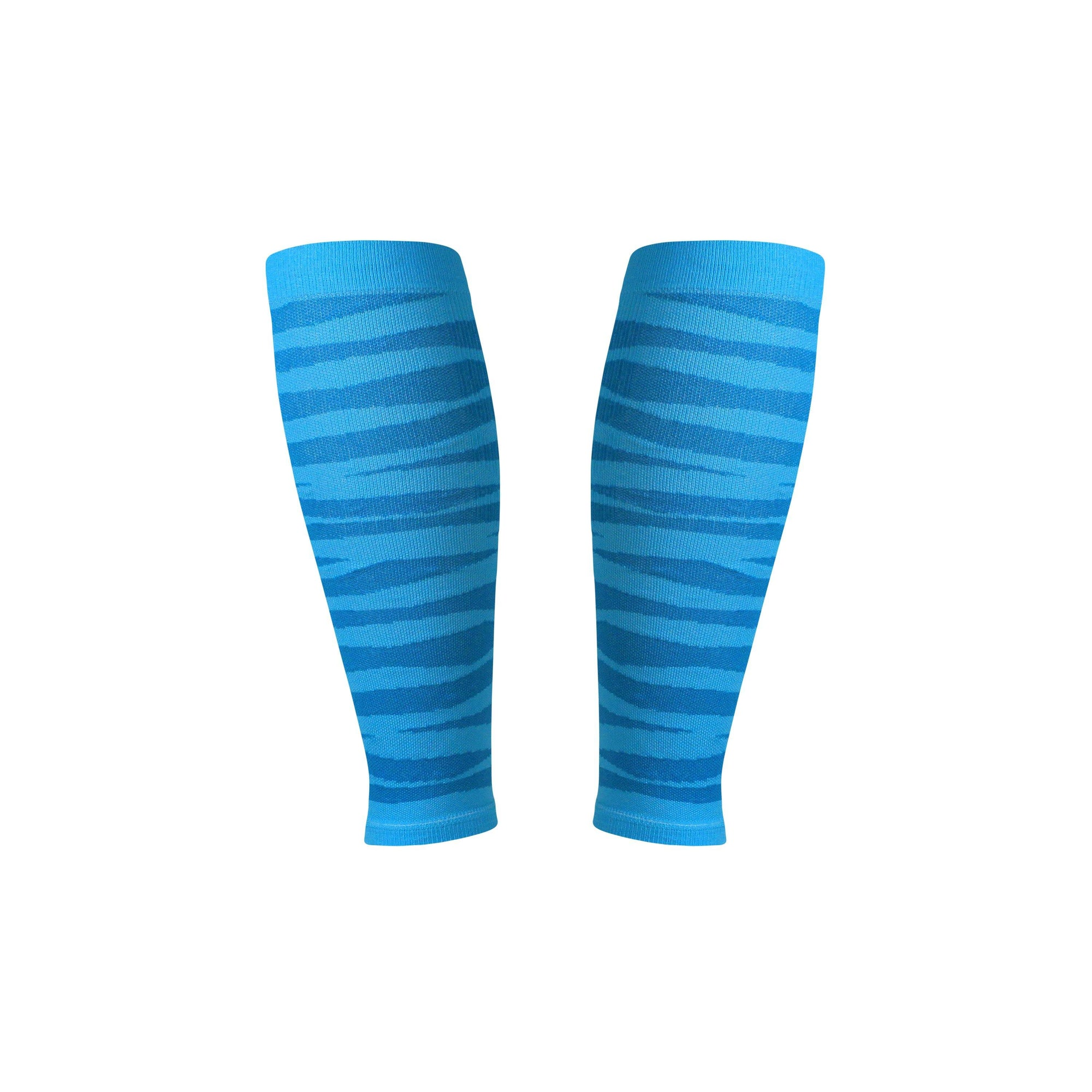 Tiger Stripe Run Lite Compression Calf Sleeves