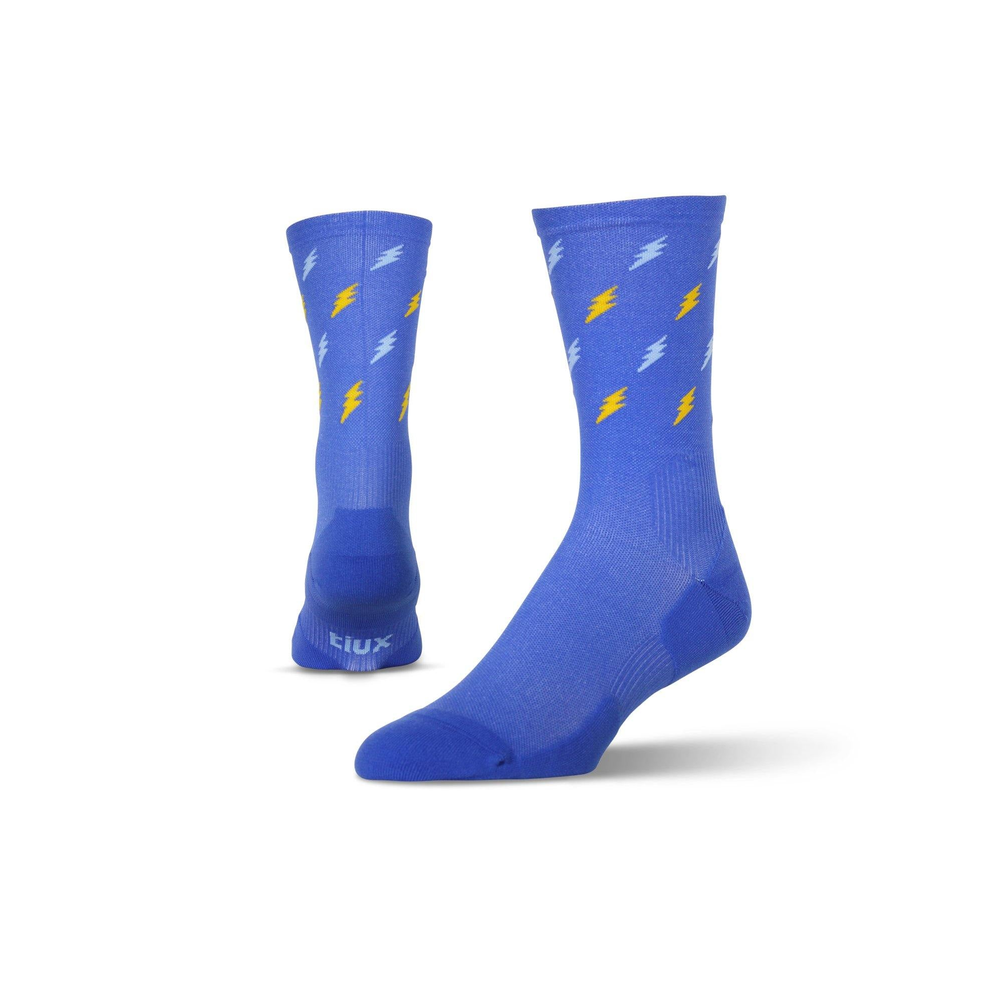 Voltage Run Crew - Graduated Compression Socks.