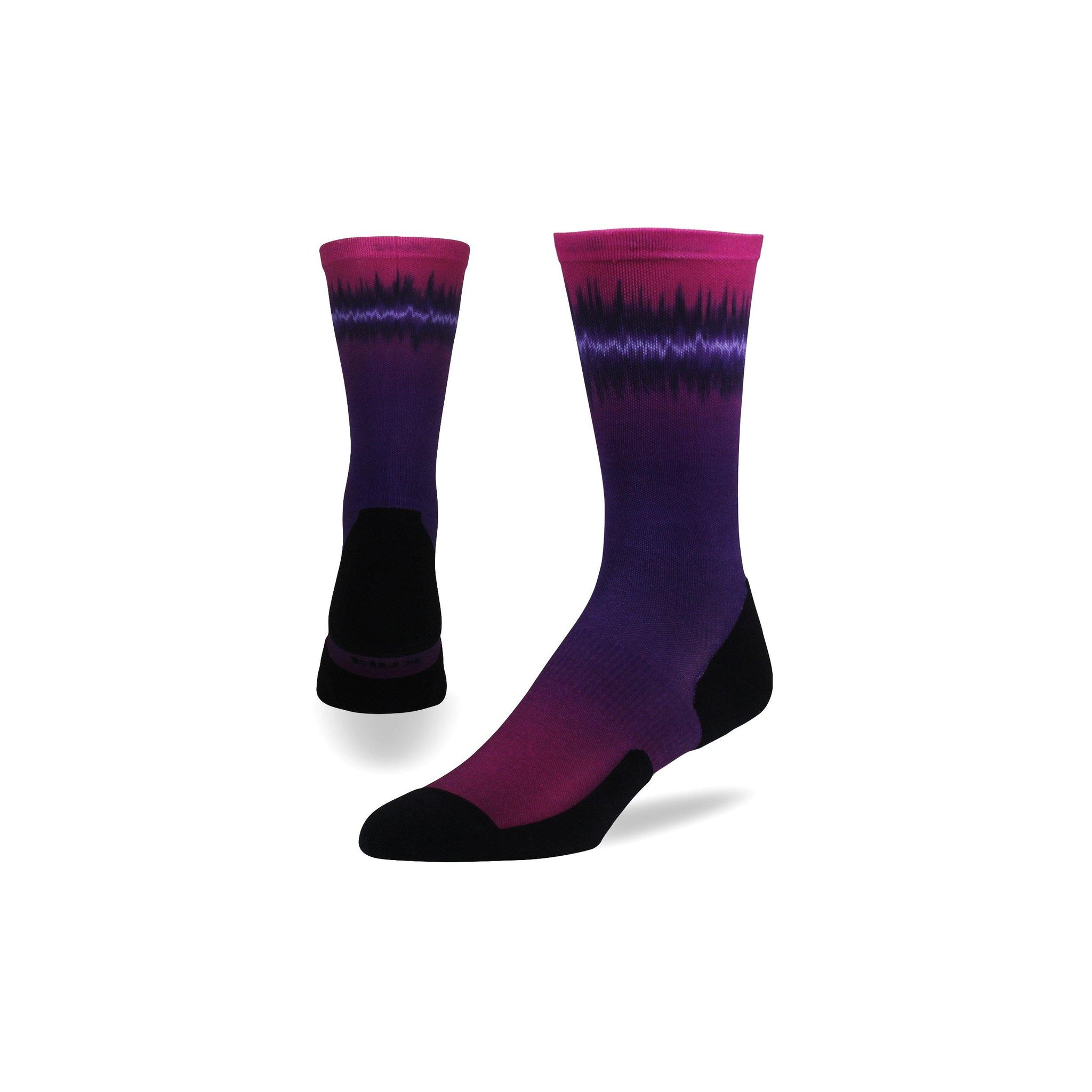Soundwave Run Crew - Graduated Compression Socks