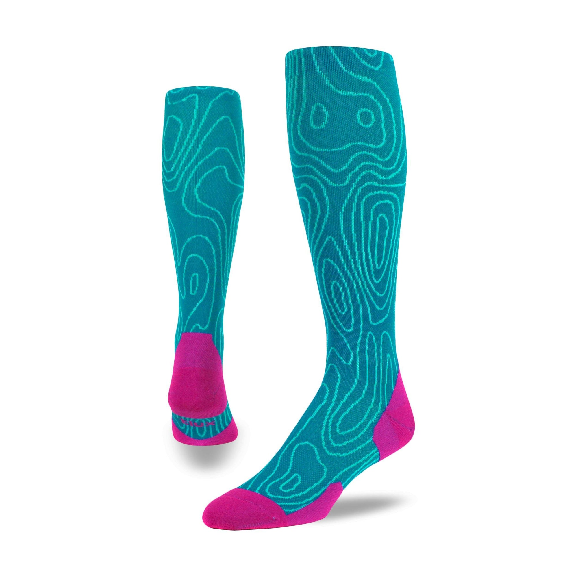 Topo Run OTC - Graduated Compression Socks.