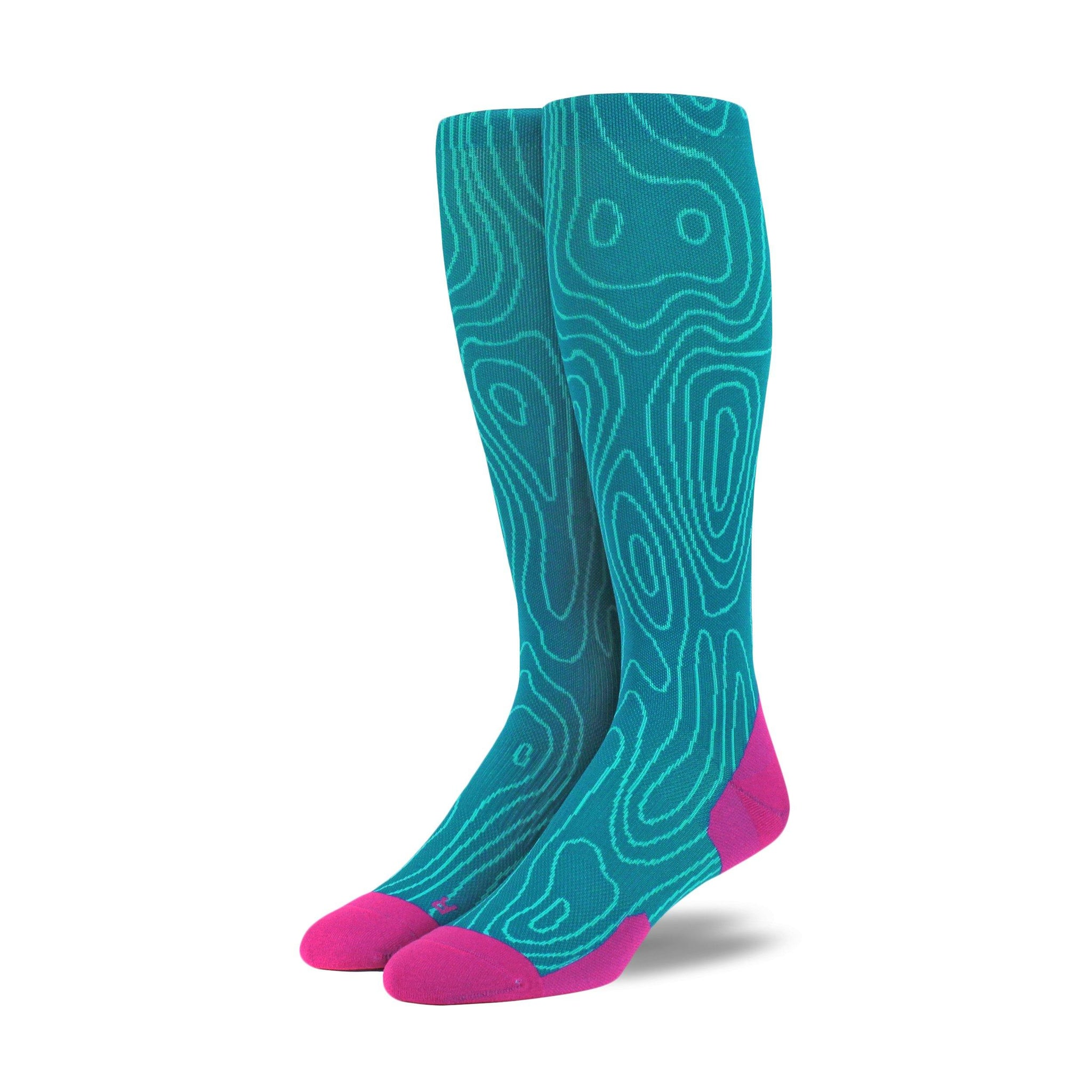 Topo Run OTC - Graduated Compression Socks