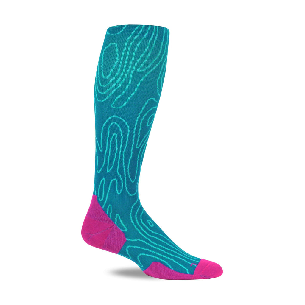 Tiux Run Compression Socks - Topo