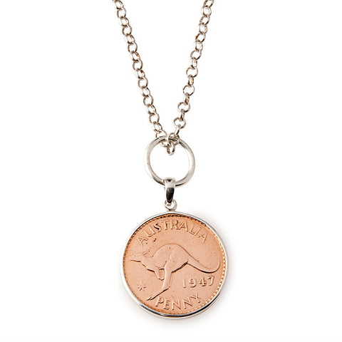 Australian Penny Necklace