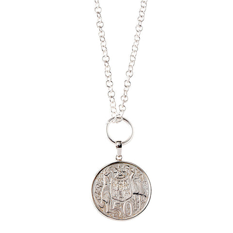 1966 50c Coin Necklace