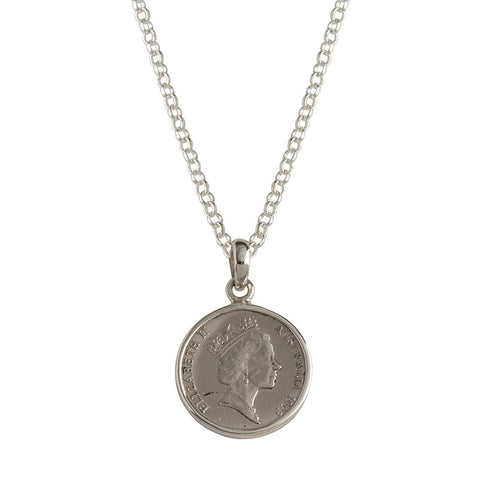 Australian 5c Coin Necklace