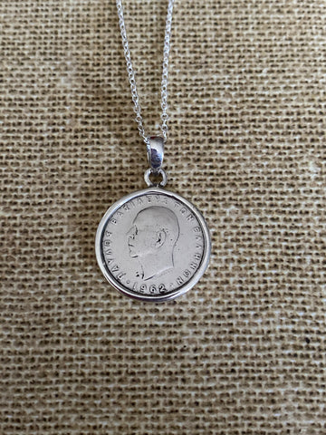 Greek Coin Necklace (GN001)