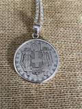 Greek Coin Necklace (GN005)