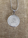 Greek Coin Necklace (GN015)