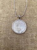 Greek Coin Necklace (GN020)