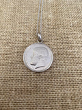 Greek Coin Necklace (GN021)