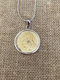 Greek Coin Necklace (GN022)