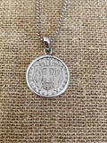 Greek Coin Necklace (GN025)