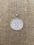 Greek Coin Necklace (GN031)